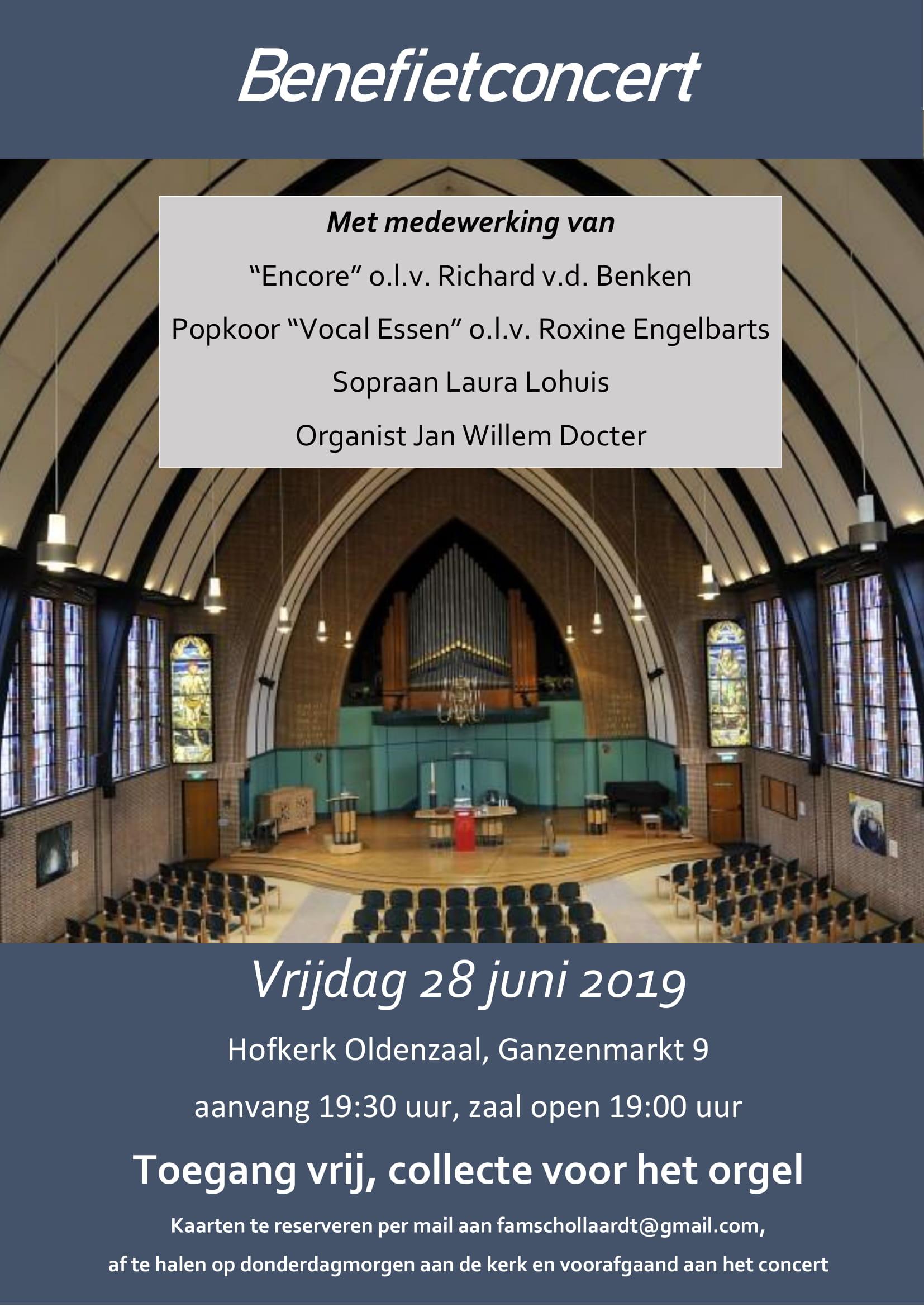 Poster Benefietconcert 29-06-19